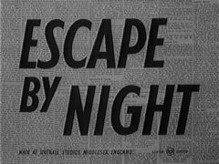 Escape by Night 1953 DVD - Bonar Colleano / Andrew Ray